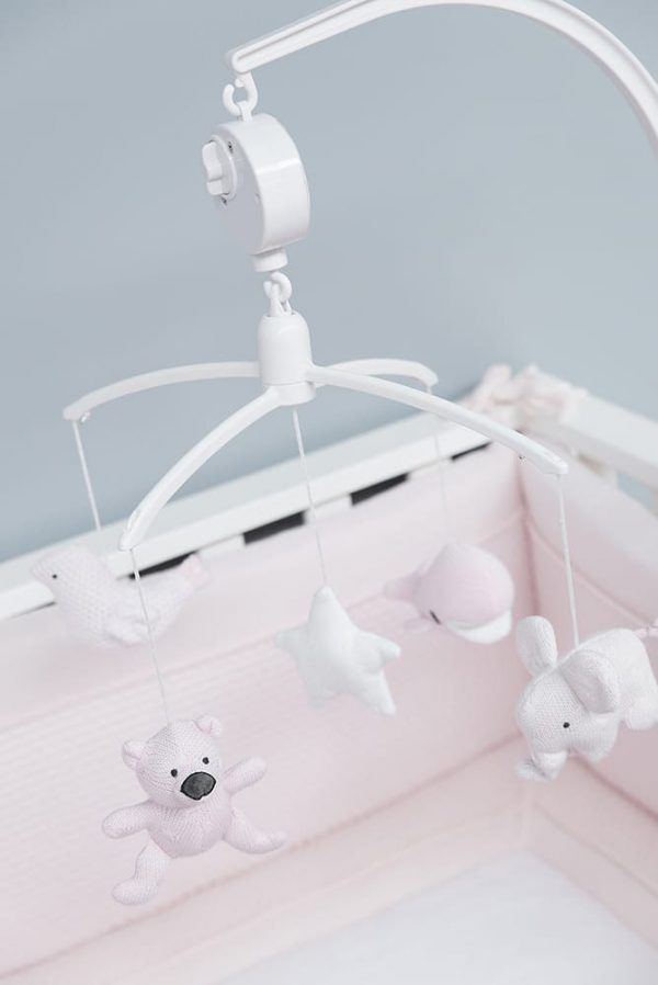 Movil de cuna musical Baby's Only blanco